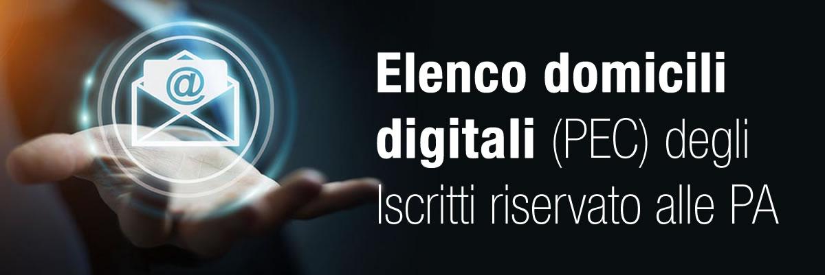 Elenco Domicili digitali